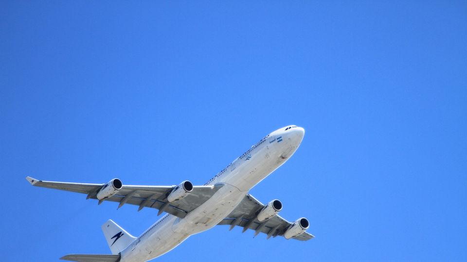 norwegian en flyreise means travel by plane
